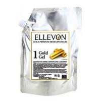 Ellevon - Премиум Альгинатная маска с золотом (гель + коллаген) 1000мл.+100мл