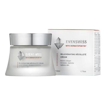 EVENSWISS Rejuvenating Decollete Cream – Антивозрастной крем для области декольте (50мл.)