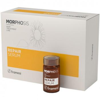 Framesi MORPHOSIS REPAIR SERUM - Интенсивно восстанавливающая сыворотка для волос (6х15мл.)