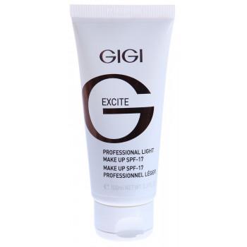 GIGI MAKE UP COLLECTION light make up - Лёгкая тональная основа SPF 17 (100мл.)