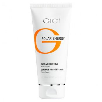 GIGI Solar Energy Fase & Body scrub - Скраб для лица и тела (200мл.)