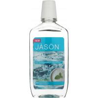 Jason Total Protection Sea Salt Mouth Rinse - Cool Mint - Ополаскиватель для рта с морской солью (473мл.)