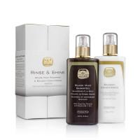 Kedma Rinse & Shine KitBlack Mud Shampoo &Balsam Conditioner- Набор Шампунь + Бальзам кондиционер (500мл.)