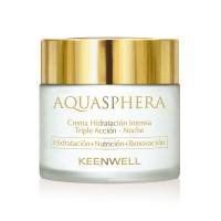 Keenwell Aquasphera Intense Moisturizing Triple Action Cream Night – Ночной интенсивно увлажняющий крем тройного действия (80мл.)