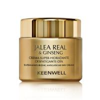 Keenwell Jalea Real and Ginseng Crema Super-Hidratante Desfatigante Dia – Суперувлажняющий дневной крем, снимающий усталость (80мл.)