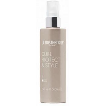 La Biosthetique Curl Protect & Style - Термоактивный спрей для укладки и защиты кудрей при использовании плойки (150мл.)
