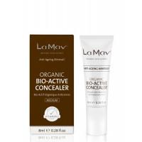 La Mav Certified Organic Bio-Active Concealer - Биоактивный консилер с антиэйдж-эффектом Medium (8мл.)