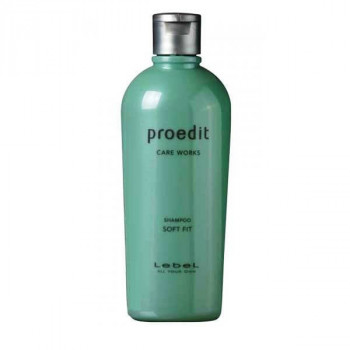Lebel PROEDIT SHAMPOO SOFT FIT - Шампунь для волоc (300мл.)
