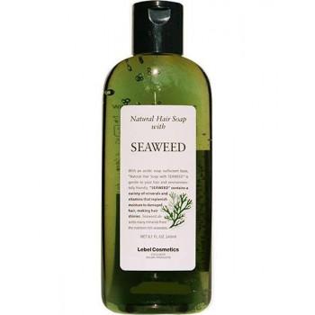 """Lebel Seaweed - Шампунь для волос """"Морские Водоросли"""" для нормальных и слабо повреждённых волос (240мл.)"""
