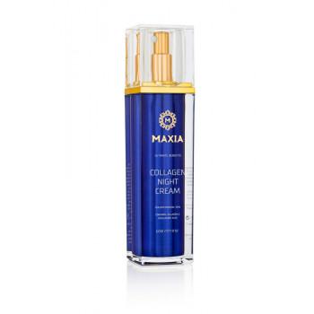 Maxia - Коллагеновый ночной крем для лица (50мл.)