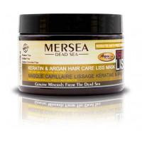 Mersea Keratin Hair Care Liss Mask Dammaged Hair Care - Маска с Кератином и маслом Аргана для вьющихся и непослушных волос (350мл.)