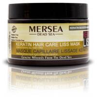 Mersea Keratin Hair Care Liss Mask Strengthening All Hair Types - Маска с Кератином восстанавливающая для поврежденных и окрашенных волос (350мл.)