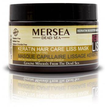 Mersea - Маска с Кератином восстанавливающая для поврежденных и окрашенных волос (350мл.)