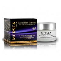 Mersea MEN Exfoliating and foaming cream - Отшелушивающий крем для лица после бритья (50мл.)