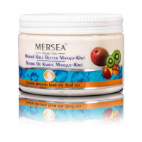 Mersea Mineral Shea Butter Mango-Kiwi - Минеральное масло Ши для тела с ароматом Манго-Киви (350мл.)