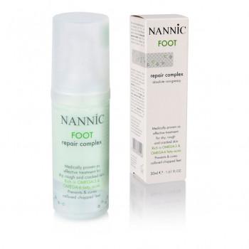 NANNIC - Восстанавливающий крем для ног (30мл.)
