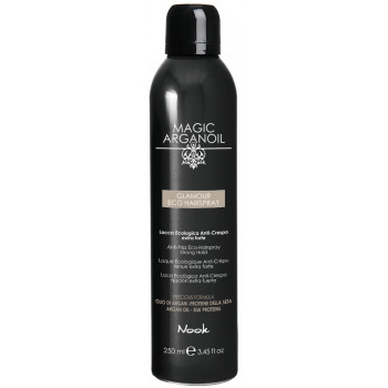"Nook Glamour Eco Hairspray - Гламурный лак для волос ""Магия Арганы"" (250мл.)"