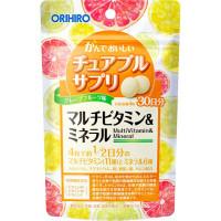 Orihiro - БАД Мультивитамины и минералы со вкусом тропических фруктов «ОРИХИРО» (120шт.)