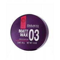 Salerm Matt Wax - Матирующий воск сильной фиксации (50мл.)