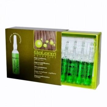 Salerm Mega Conditioner - Интенсивный кондиционер для сильно поврежденных волос (12 шт. по 5мл.)