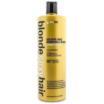 Sexy Hair Sulfate-free bombshell blonde conditioner - Кондиционер для сохранения цвета блонд без сульфатов (1000мл.)