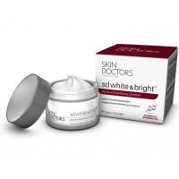 Skin Doctors SD White & Bright - Отбеливающий крем для лица и тела (50мл.)