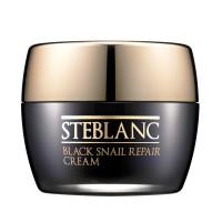 Steblanc -  Крем для лица восстанавливающий с муцином Черной улитки (92%) 50мл.