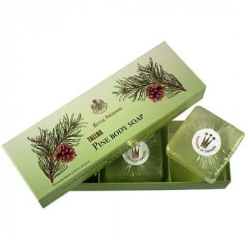 Victoria Soap Tallba Pine Soap - Мыло для тела с экстрактом шведской сосны (3шт. по 100гр.)