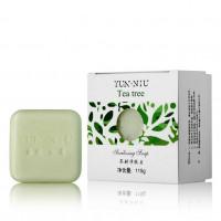 YUN-NIU - Натуральное мыло с маслом чайного дерева (115гр.)