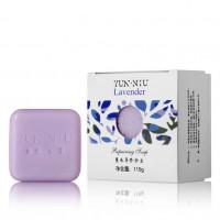 YUN-NIU - Натуральное мыло с маслом лаванды (115гр.)