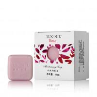 YUN-NIU - Натуральное мыло с маслом розы (115гр.)