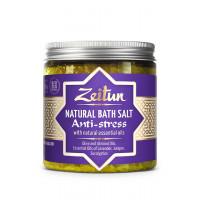 Зейтун - Антистрессовая соль, с маслами эвкалипта, лаванды и можевельника (250мл.)