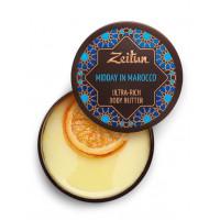 """Зейтун - Крем-масло для тела """"Марокканский полдень"""". Для подтяжки кожи (200мл.)"""