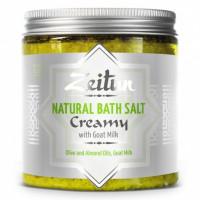 Зейтун - Сливочная соль, с маслом миндаля и козьим молоком (250мл.)
