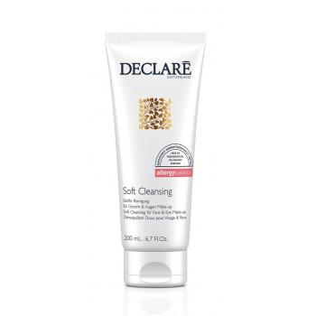 Declare Soft Cleansing for Face & Eye Make-Up Remover - Мягкий гель для очищения и удаления макияжа (200мл.)