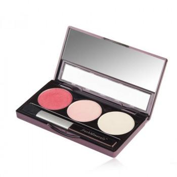 freshMinerals Mineral Triple Eyeshadow Cafe Late  - Трехцветные тени для век (4,25гр.)