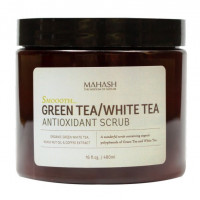 MAHASH Green Tea-White Tea Antioxidant Scrub - Антиоксидантный скраб с зеленым и белым чаем (480мл.)