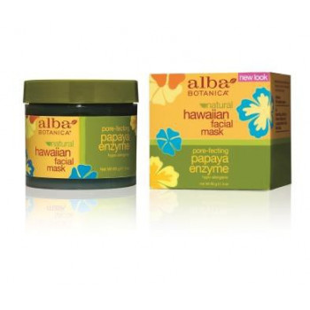 Alba Botanica Natural Hawaiian Facial Mask Pore-fecting Papaya Enzyme - Гавайская энзимная маска с ферментами папайи (85гр.)