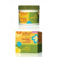 Alba Botanica Aloe & Green Tea Oil-Free Moisturizer - Гавайский увлажняющий крем Алое&Зеленый чай (85гр.)