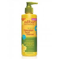 "Alba Botanica Hawaiian Facial Cleanser Pore Purifying Pineapple Enzyme - Гавайское очищающее средство для лица с энзимами ""Ананас"" (237мл.)"