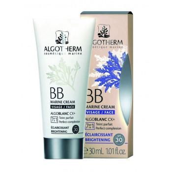 "Algotherm BB Marine Cream - Морской BB-крем для лица ""Сияние"" SPF 30 (30мл.)"