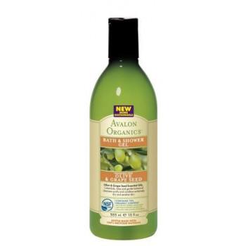"Гель для душа ""Олива и виноградная косточка""(OLIVE & GRAPE SEED Bath & Shower Gel)  (355мл.)"