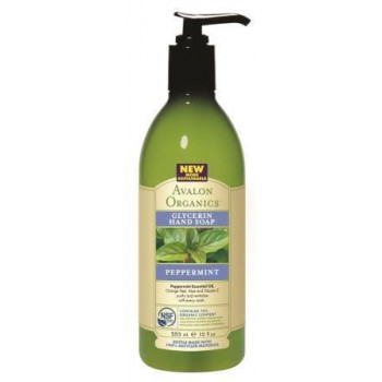 """Мыло для рук """"Мята""""(PEPPERMINT Glycerin Hand Soap) (355мл.)"""