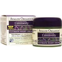 "Avalon Organics Ночной увлажняющий крем ""Лаванда""(Ultimate Night Cream)"