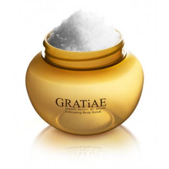 Gratiae Exfoliating Body Scrub Apple - Отшелушивающий Скраб для Тела - Яблоко, 175мл