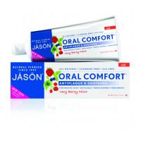 Jason Зубная паста отбеливающая  с коэнзимом Q10/Oral comfort antiplaque and soothing(125гр.)