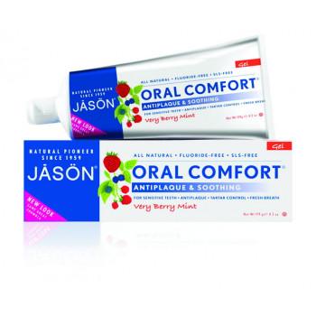 Зубная паста отбеливающая  с коэнзимом Q10/Oral comfort antiplaque and soothing(125гр.)