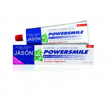 Натуральная гелевая зубная паста , отбеливающая с фтором и CoQ10/Powersmile (170гр.)