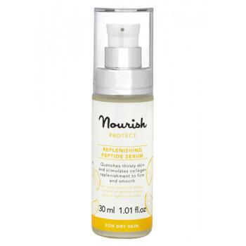Nourish Protect Replenishing Peptide Serum -  Защитная питательная сыворотка для сухой кожи(30 мл.)