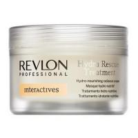 Revlon Professional Interactives Hydra Rescue крем для блеска волос увлажняющий и питательный Treatment(200мл.)